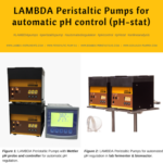 pH regulation using LAMBDA peristaltic dosing pumps